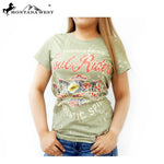 Montana West Ladies T Shirt Soul Riders