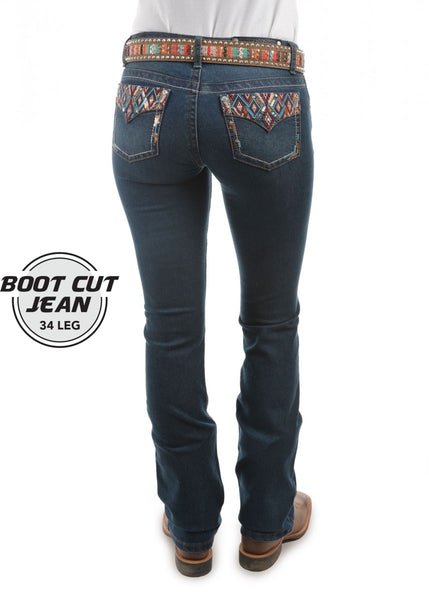 Pure Western Ladies Courtney Boot Cut Jeans