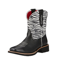 Ariat Womens Rosie, Black Zebra