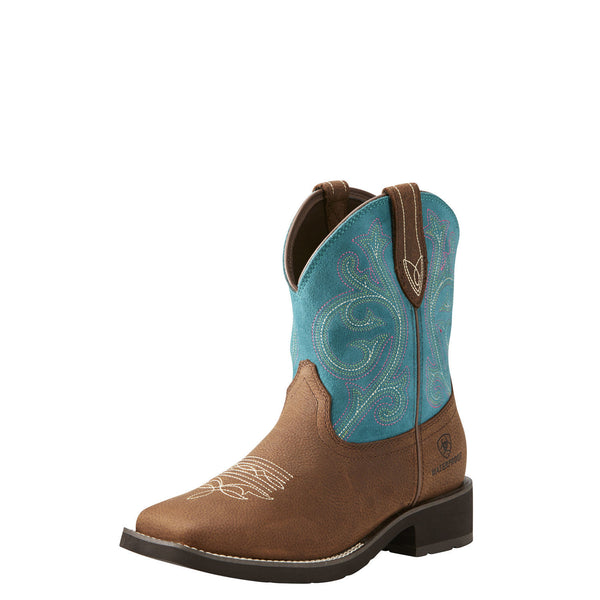 Ariat Wms Shasta H20 Baked Brown/Turquoise