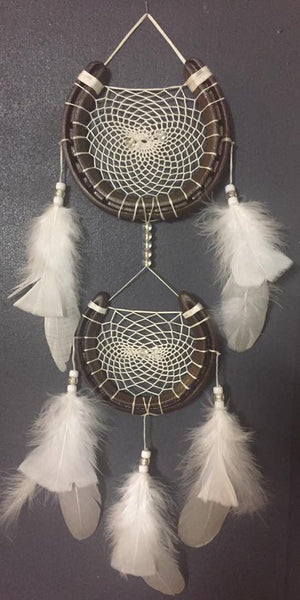 Rustic and White Dreamcatcher