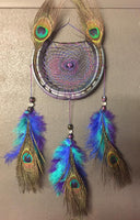 Peacock Dreamcatcher Design Two