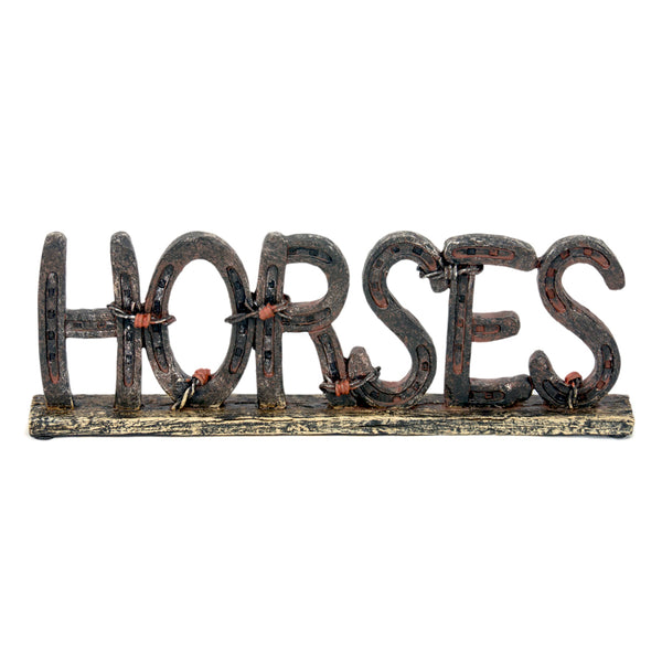 Horses Sign - Free Standing