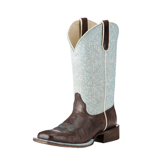 Ariat Women's Circuit Savanna Chief Chocolate