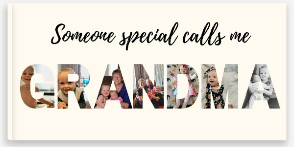 """Someone special calls me"" Canvas Print"