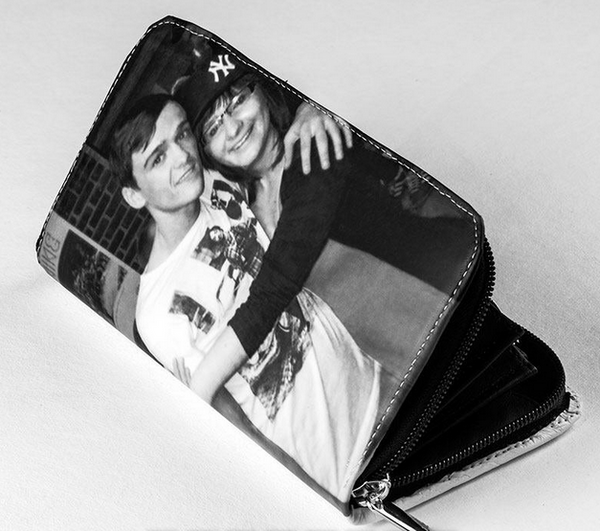 Personalised photo wallet- ladies