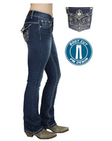 🐎 💖Pure Western TASHA BOOT CUT JEAN