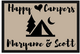 Happy Camper Door Mat