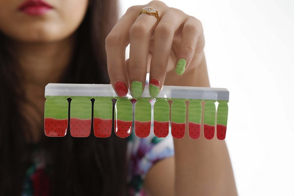Nail Polish Stickers - Ripe Melon