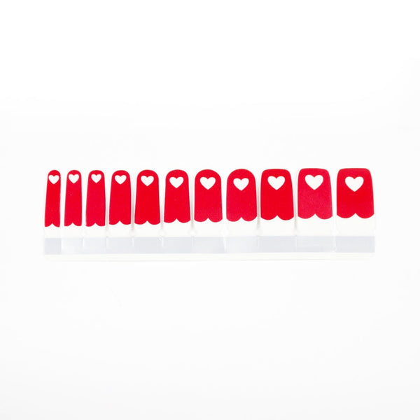 Nail Polish Stickers - Skippy Heart