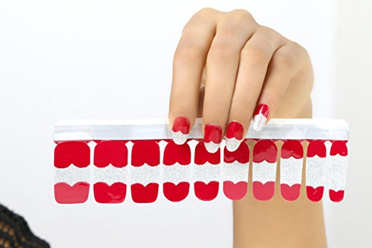 Nail Polish Stickers Berry Pop