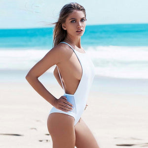 Allure Backless Swimsuit