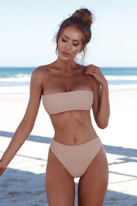 Contour Bandeau Push-Up Swimsuit