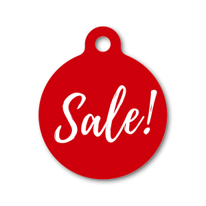 SALE! DOUBLE SIDED TAGS