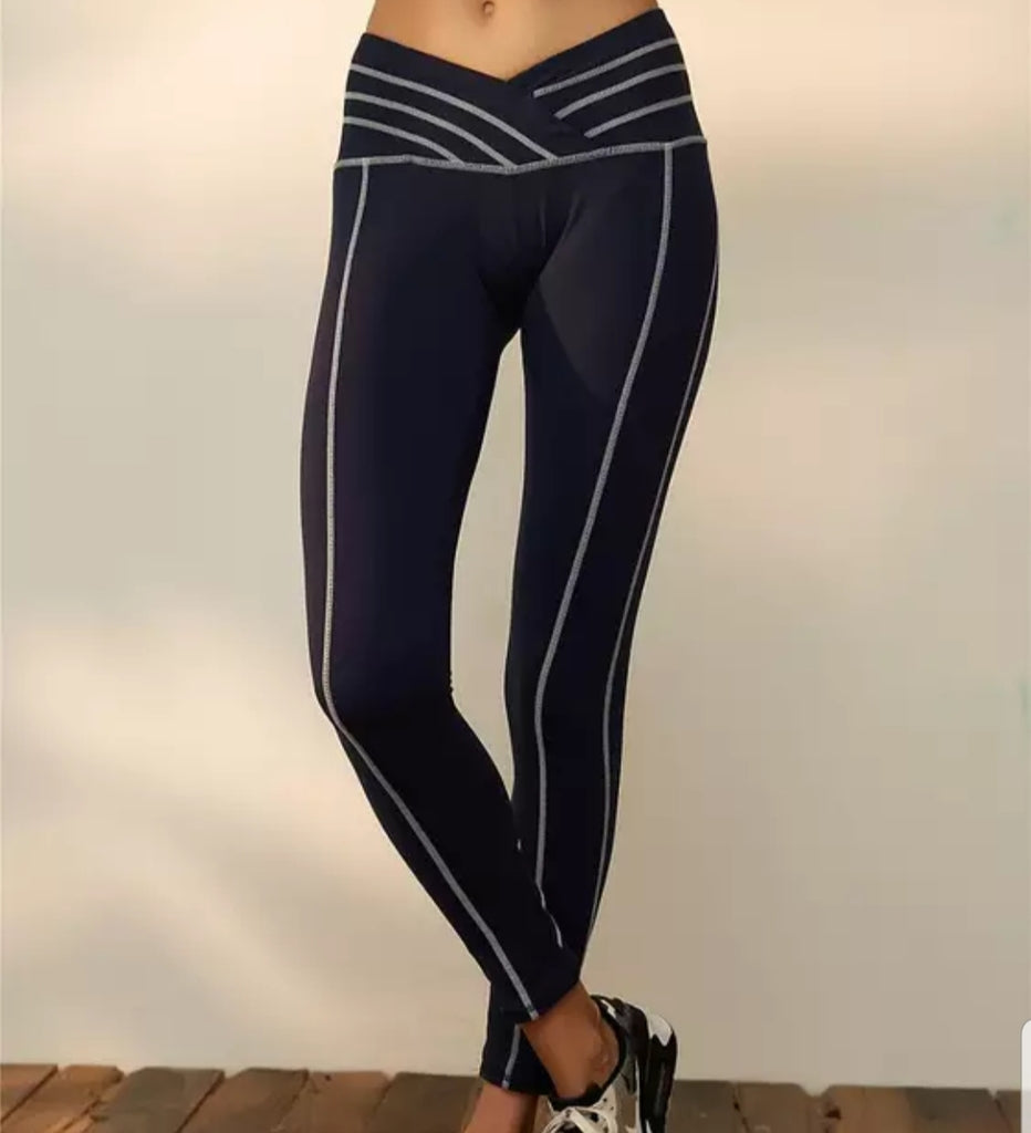V-cut Athletic Leggings