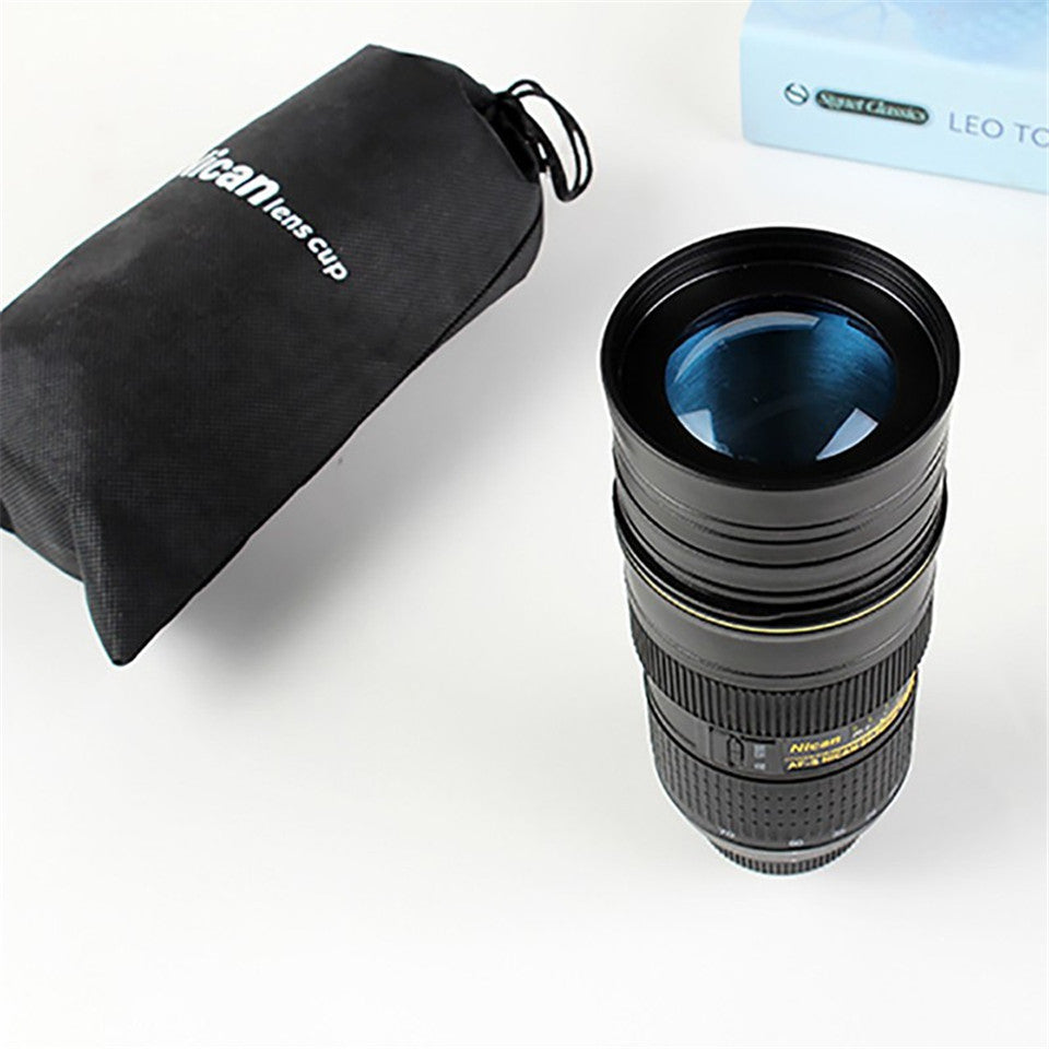 ... Nican Tall Stainless Steel Camera Lens Mug ...