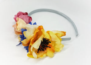 Sunflower headband - MajulaHandmade