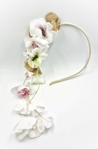 Field's flowers headband