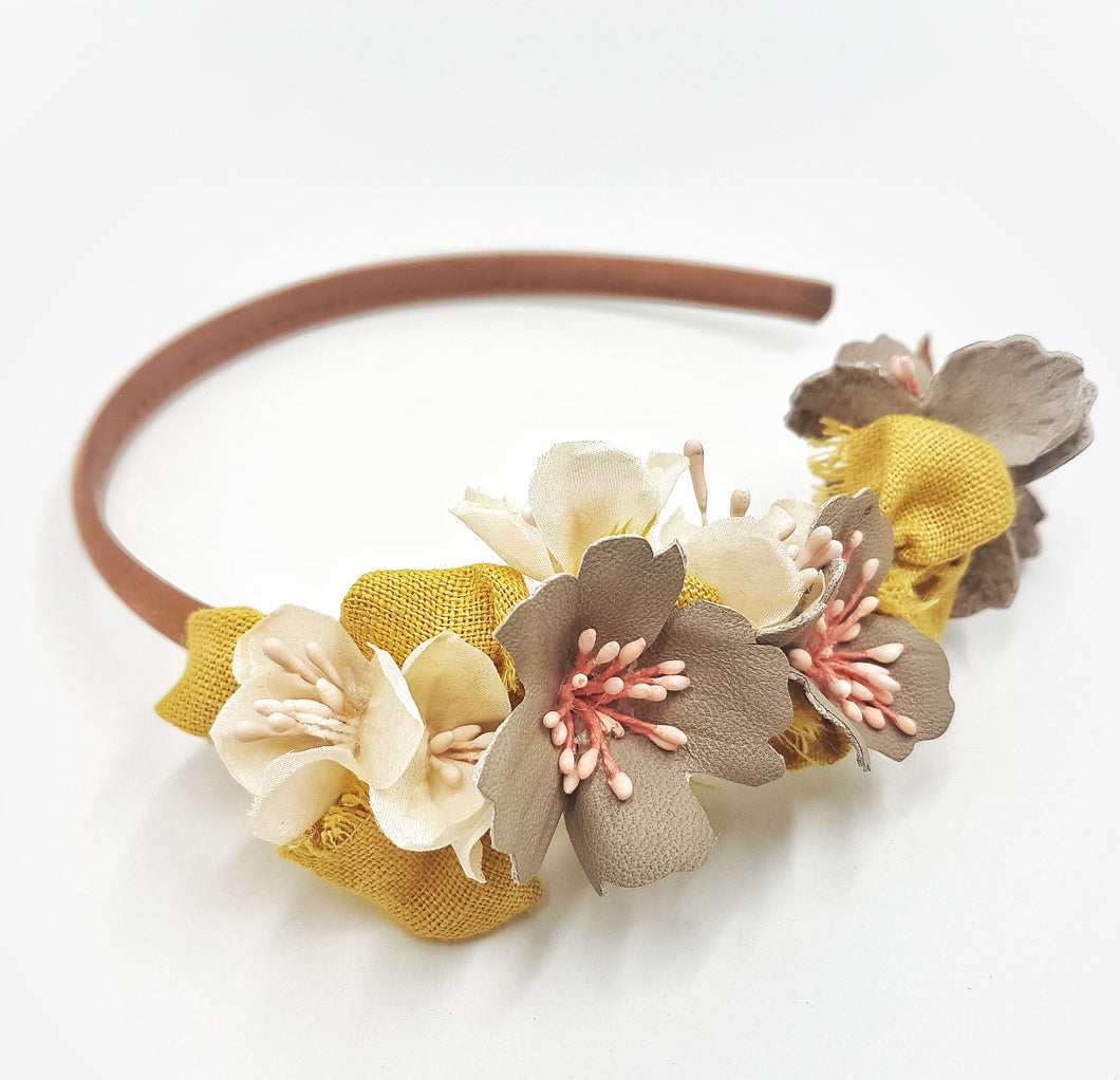 The Autumn bloom headband