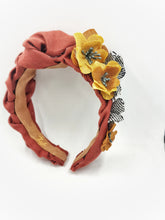 The Flowers wavy headband