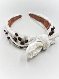 Coffee beans headband