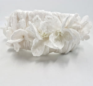 Crown jewel Gardenia headband