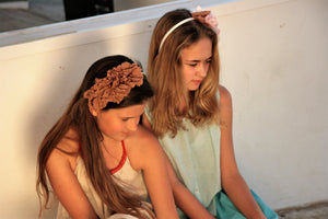 Modern girl headpiece - MajulaHandmade