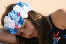 Blue sky crown - MajulaHandmade