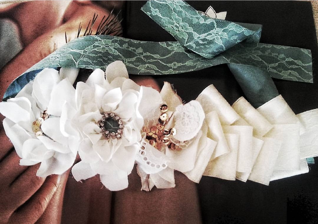 French Couture Flower Crown Majulahandmade