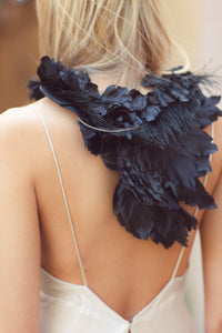 Feather's touch necklace