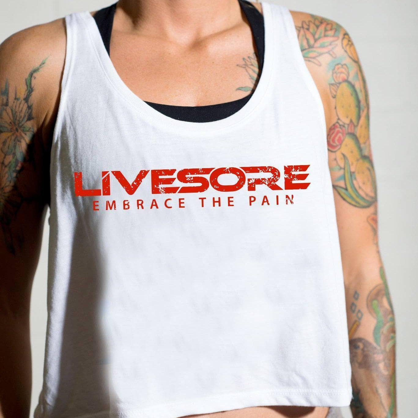 Highly Aggressive Crop Top-Womens Apparel,Womens Tanks-Livesore.net