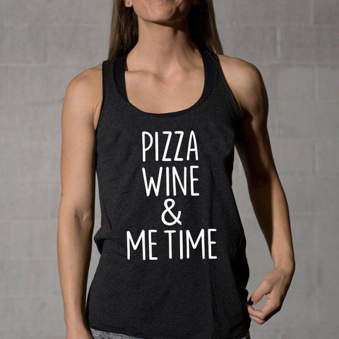 Pizza, Wine, & Me Time Tank Top