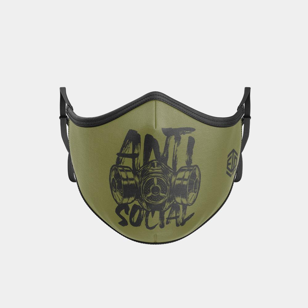 TRIPLE LAYER TRINITY MASK - ANTI SOCIAL