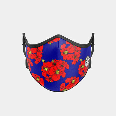 TRIPLE LAYER TRINITY MASK - FLORAL