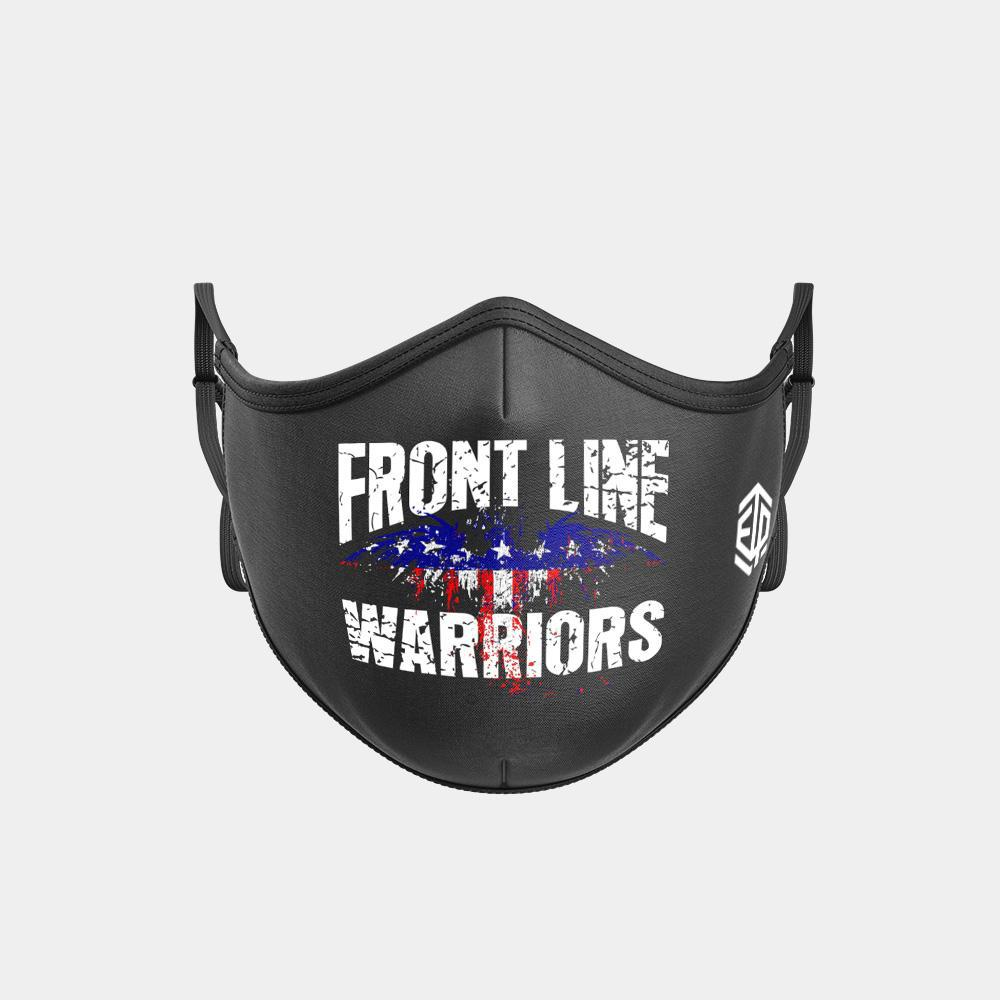 TRIPLE LAYER TRINITY MASK - FRONT LINE WARRIOR