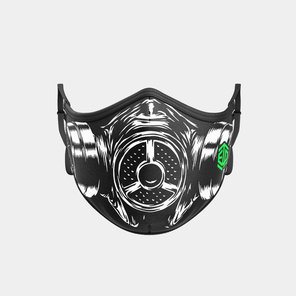 TRIPLE LAYER TRINITY MASK - GAS MASK