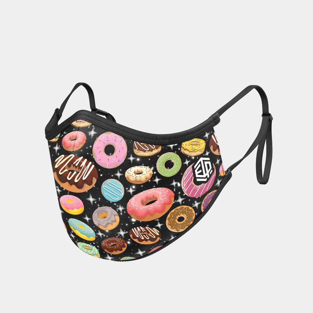TRIPLE LAYER TRINITY MASK - DONUTS