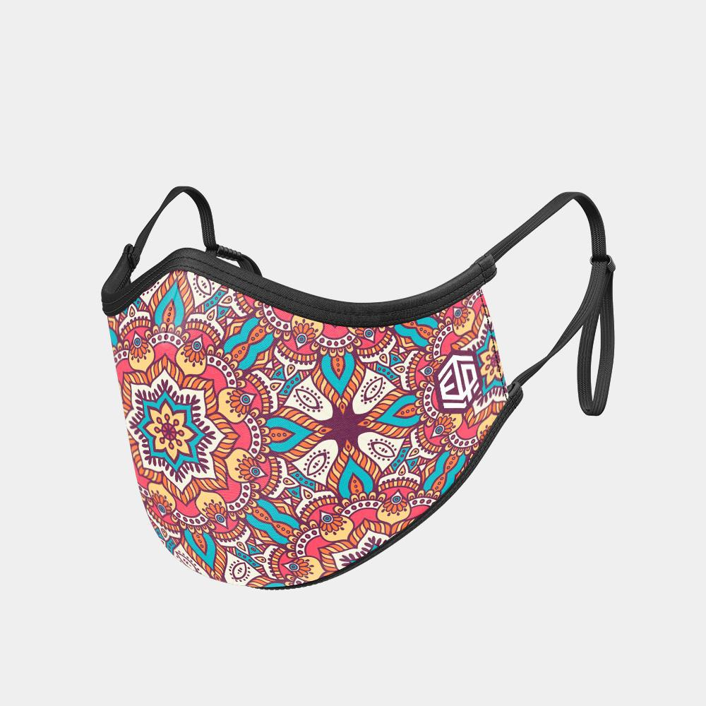 TRIPLE LAYER TRINITY MASK - BOHEMIAN