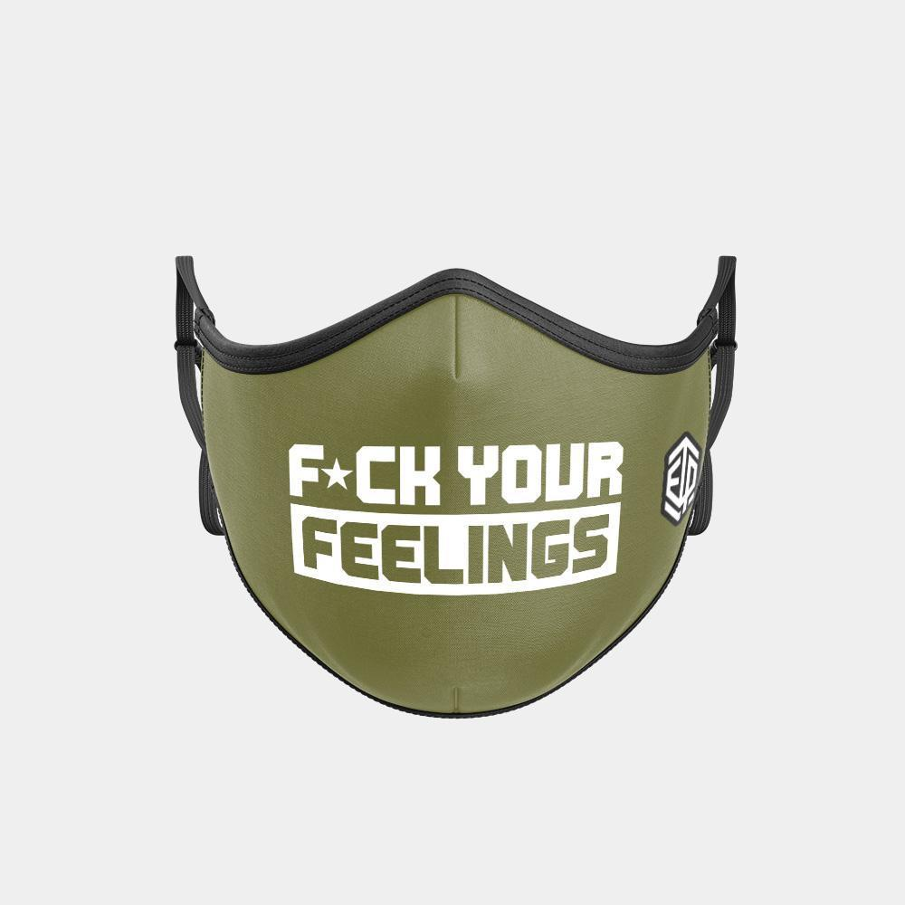 TRIPLE LAYER TRINITY MASK - F*CK YOUR FEELINGS