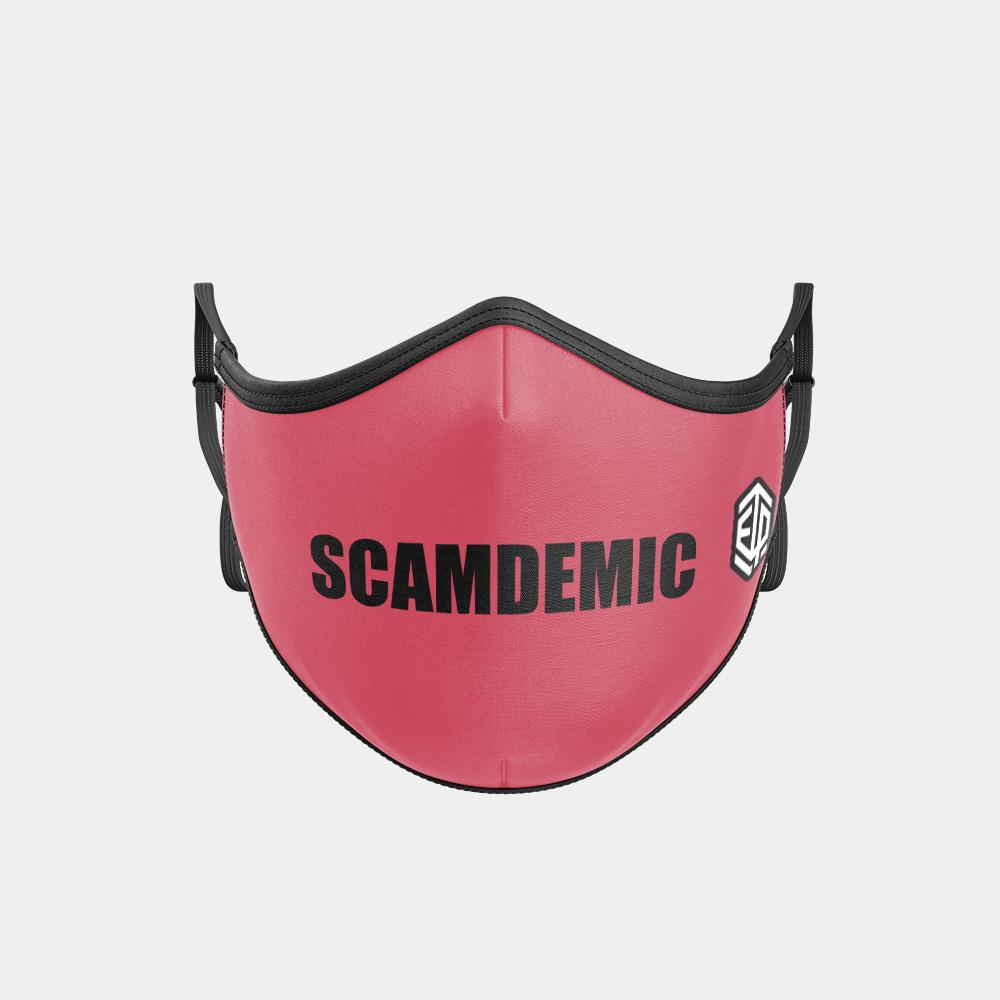 TRIPLE LAYER TRINITY MASK - SCAMDEMIC