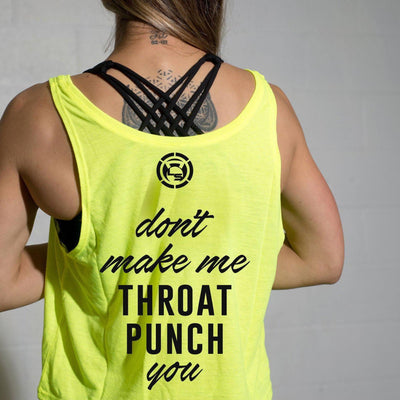 Feminine AF - Throat Punch Crop Top