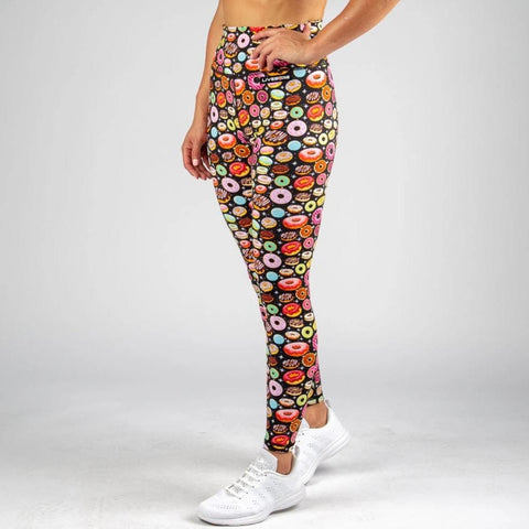 FIRE Booty Leggings - GALAXY DONUTS
