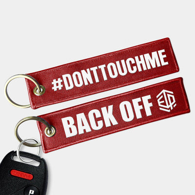 #DONTTOUCHME Key Chain