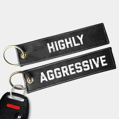 HIGHLY AGGRESSIVE Key Chain