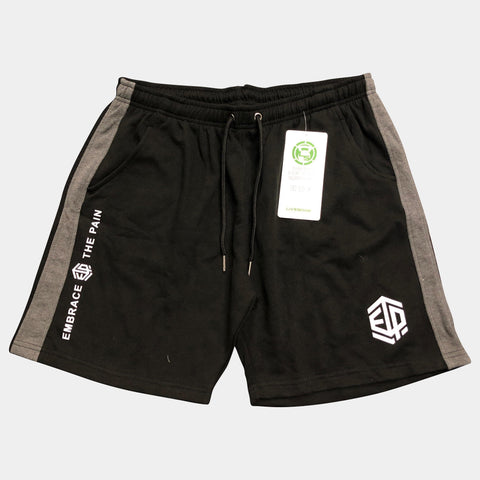 FUNCTION Black Sweat Shorts Men's