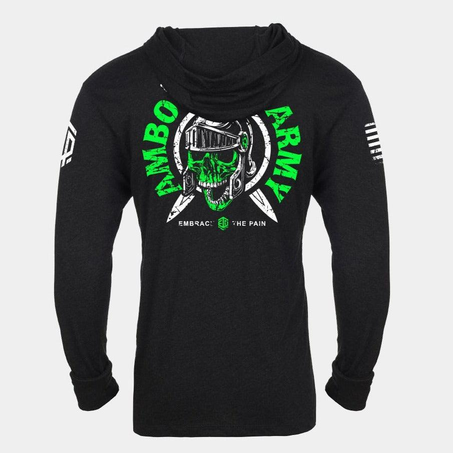 AMBO ARMY 2020 SKULL Lightweight Unisex Pullover Hoodie