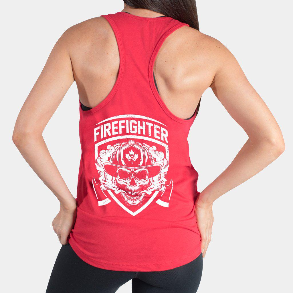 Canada Firefigher Support Tank Top