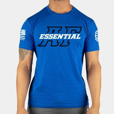 ESSENTIAL AF Royal Blue Men's T-shirt
