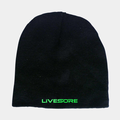 ETP EMBRACE THE PAIN Black & Green Beanie