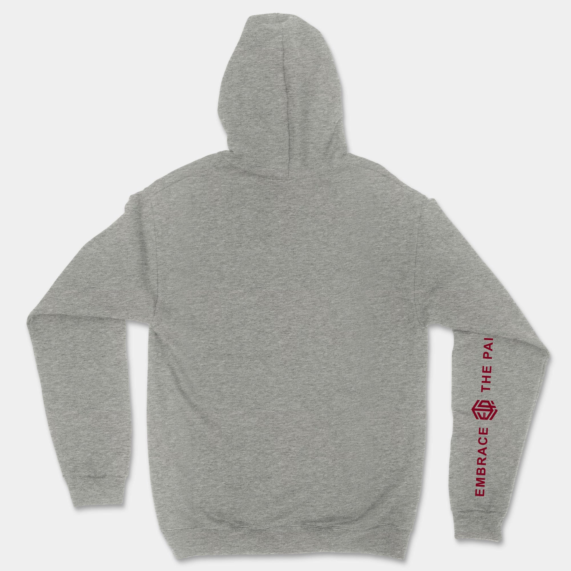 Embrace The Pain ETP - Pullover Unisex Hoodie (Gray)